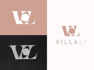Villa Li Logo design