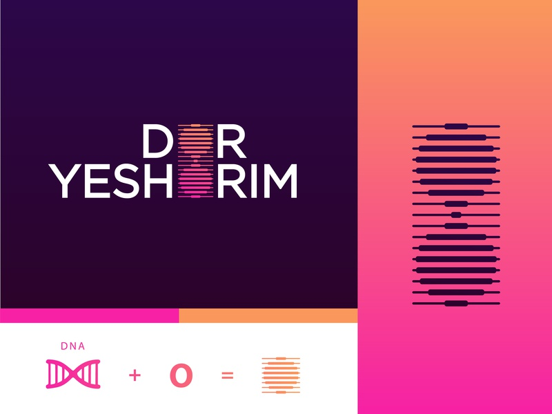 Dor Yeshorim Pt. 2 colors palette proposal mark making logo logomark mark symbol logo symbol symbol new york america vector logo concept dna genetic logomarks mark modern design modern logo design logodesign