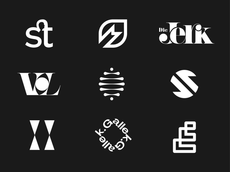 Best logos 2019 logoset logo designer logo design graphic design monochrome symbol design symbol letter mark lettermark logotype design logotypedesign logotypes logotype marks mark logofolio logo collection logocollection logos logo