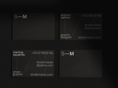 Business Card Studio—Maran