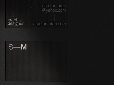 Business Card Studio—Maran Pt.3 Detail