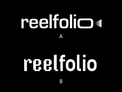 reelfolio—logo proposals