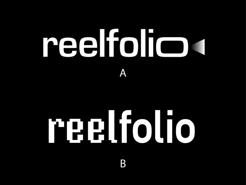 reelfolio—logo proposals videography mark symbol chooser marks mark logotipe logo design portfolio site portfolio filmmaker logotipos logotype designer logotype design logotipo logotypedesign logotypes logotype logos logodesign logo