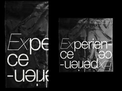 Experience branding typography logo helvetica neue helvetica typographic typo plastic logotype designer logotype design logo logotypedesign logotypes experience typedesign typeface type design logotype inspiration typography type