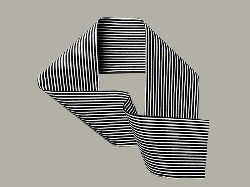 Q Experiment optical art letter logo logo design optical letter q q logo lettermarkexploration letters letter lettermark trademark marks branding logos design graphic graphicdesign logodesign logo