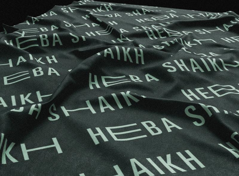 HEBA SHAIKH textile fashion branding fashion fashion brand brand agency brand identity design brand and identity branding design brand identity brand design brand branding textile pattern textile design textile logo design logodesign logotypes logo text logo type logotype