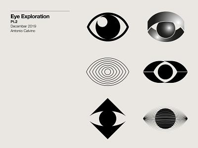 Eye Exploration Pt.2 monochrome symbol design exploration logo design branding logo designer logo design logo exploration eye logos eye mark eyes eye logo eye inspiration marks symbol branding logos brand logodesign logo