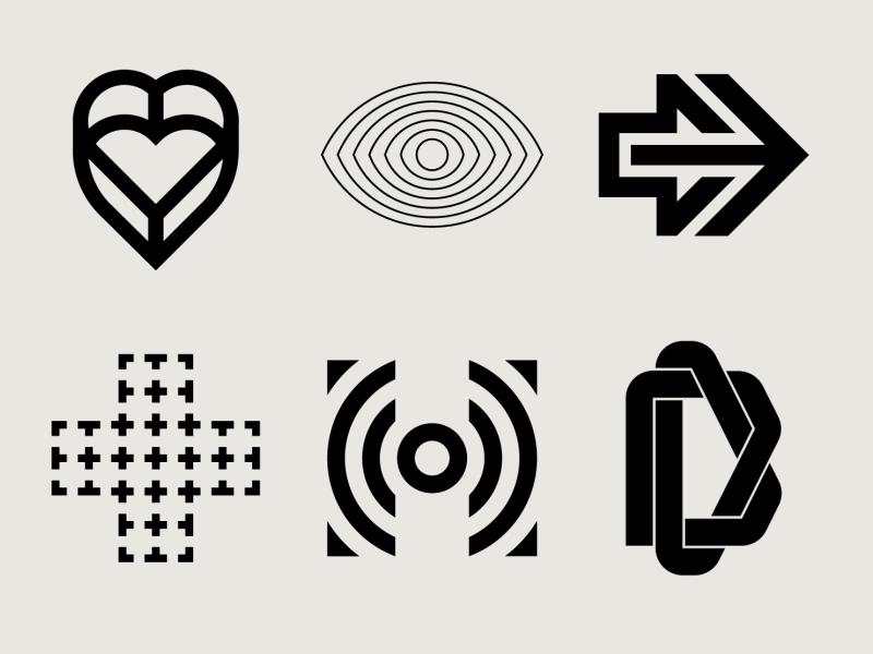 6 Logos modernism trade mark trademarks logo folio logo design logosai logo collection logofolio mark symbol icon mark symbol mark symbols trademark inspiration marks symbol logos branding brand logodesign