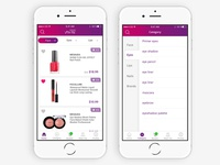 Beauty mobile app