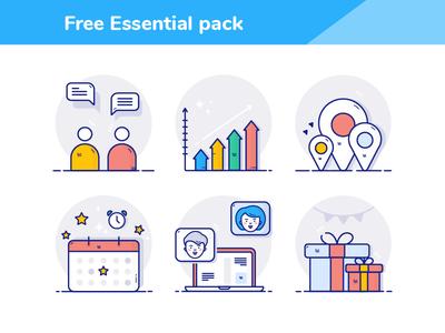 Free Essential icons