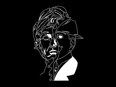Julius graphic design lineart