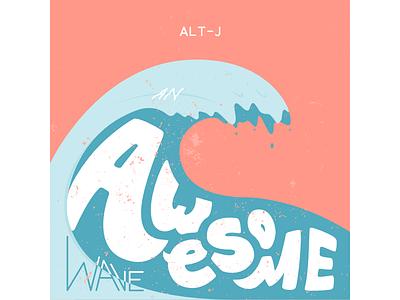 alt-J Redesigned Cover Album album cover band adobe illustration lettering