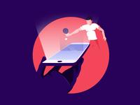Digital ping pong