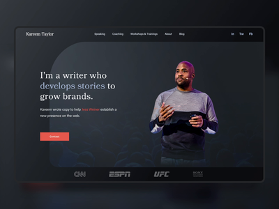 Kareem's Storytelling Website