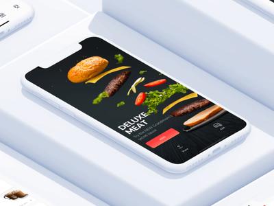 Burger customization mobile animation mobile app app motion animation delivery customization burger menu burger