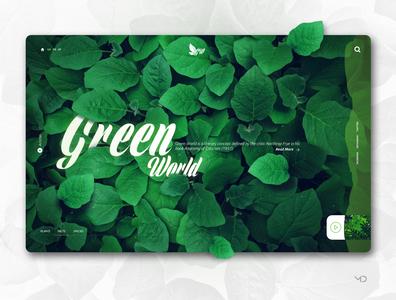 Green World Concept design.