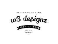 Logo design for W3 Designs