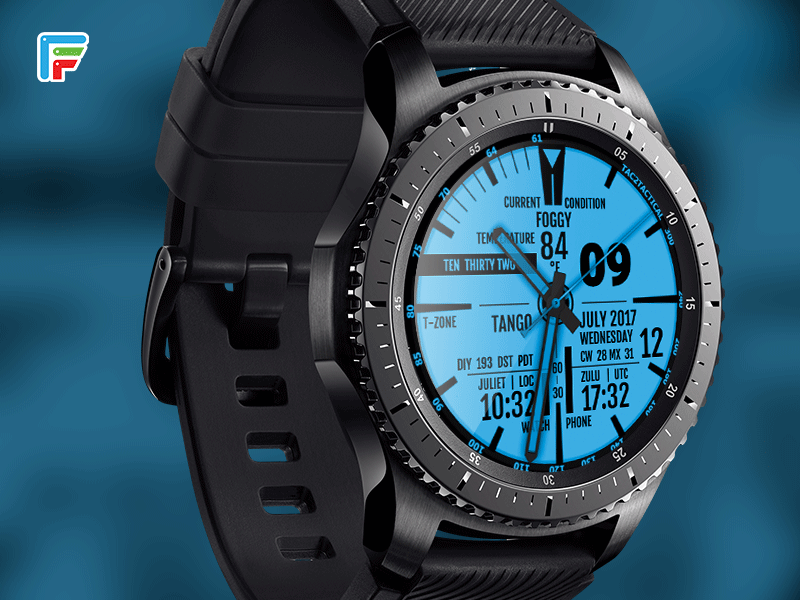 Dual Tactical Military Smart Watch Design By Facer Dribbble