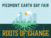 Piedmont Earth Day Fair Illustration