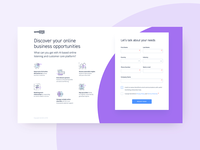 book a demo / landing page
