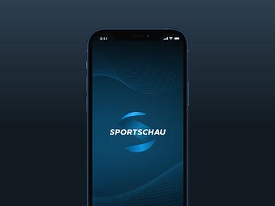 Sportschau App sportsapp soccer football sports mobiledesign sportschau branding logo design ios illustration mobile app ux ui