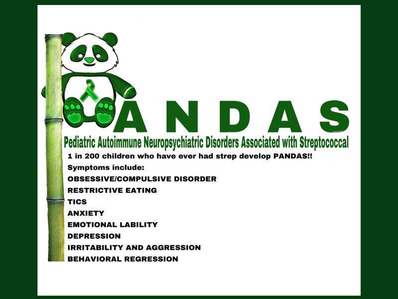 P A N D A S awareness informative logo color illustration cause