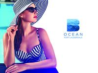 B Ocean postcard