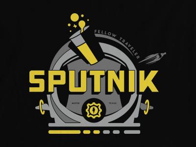 Space pint space pint beer texas austin sputnik nasa helmet