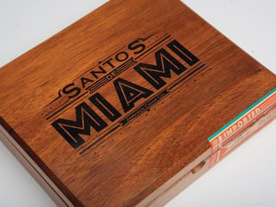 Santos De Miami  - exterior cigars packaging awesome