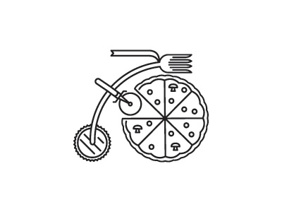 pedal pizza bike pizza pedal beer tavern food thicklines