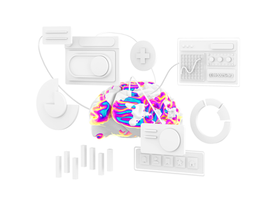 3d interface interface illustration branding graphic photoshop 3d cinema4d