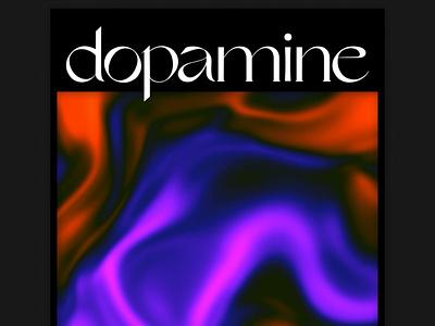 Chemicals — Dopamine Still shaders fluid motion typography webgl artdirection art animation