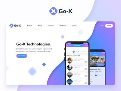 Go-X Website #1