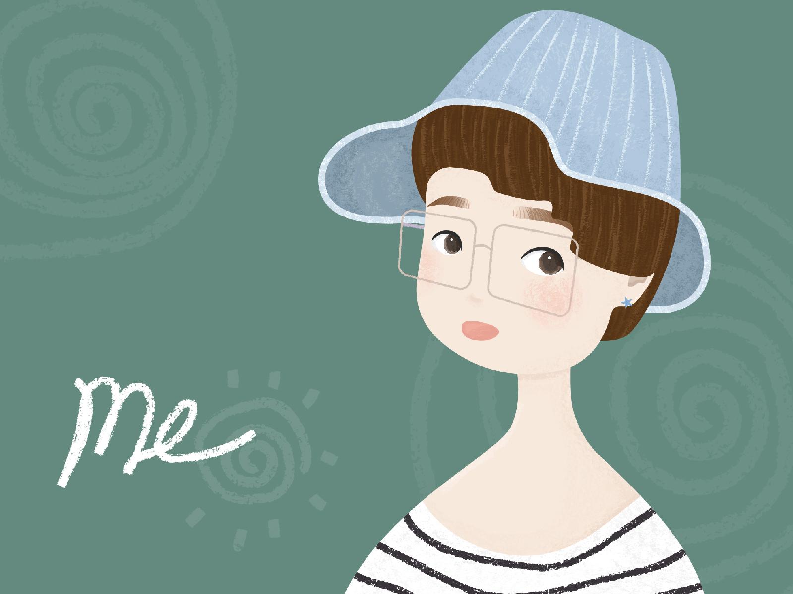 Illustration Challenge - Day 1 - Me illustration