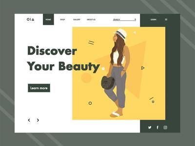 Illustration Design for the website