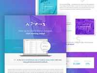 MoneyMaking Landing Page