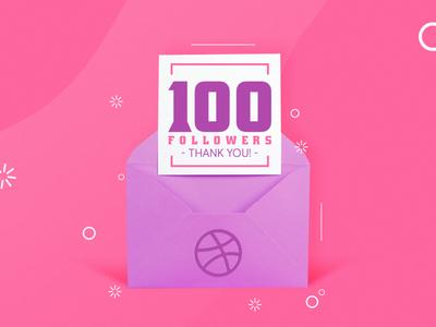 100 Followers - Thank you!