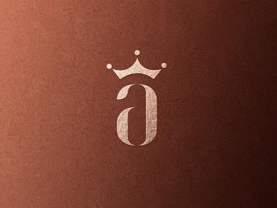 Alexandar King logo design luxurious minimalism simple luxury modern minimal logo design brand