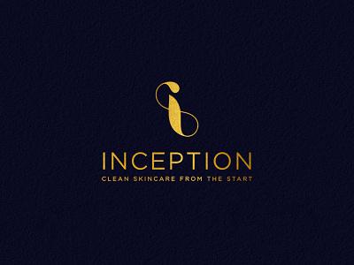 Inception modern logo design luxury cosmetic logo beauty logo simple minimalism branding logo minimal design