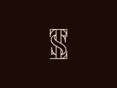 TSL Nails Spa typogaphy branding logo design beauty spa logo nail salon cosmetic logo beauty logo luxury modern logo minimal brand