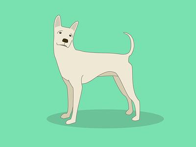 Doggie illustration sypmonthofmaking