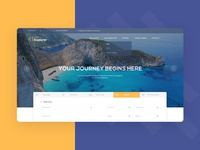 Home page - Booking form