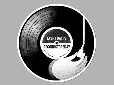 Recordstoreday shading illustration recrdstoreday sticker design design sticker