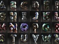 Surreal Alphabet