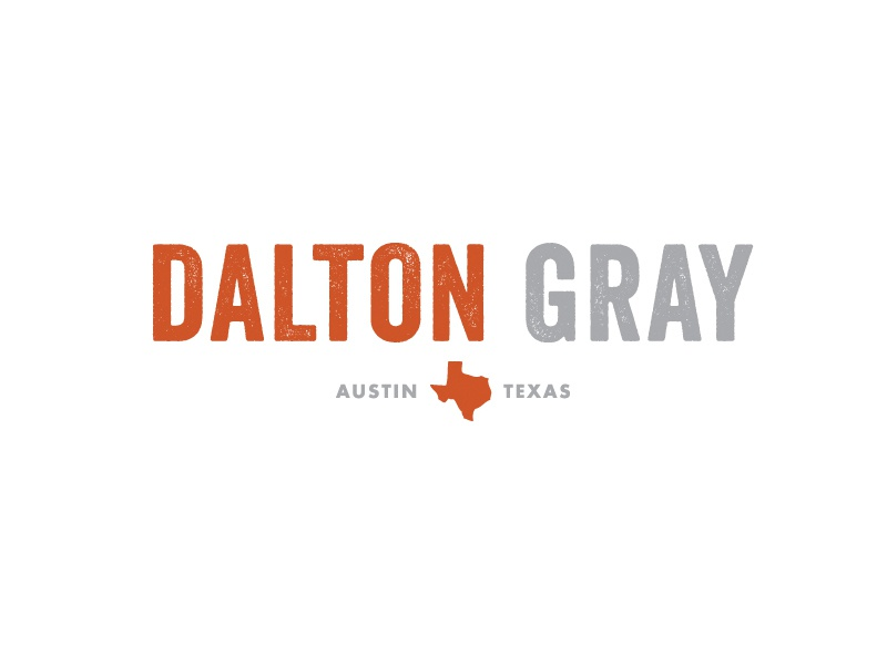 Dalton Gray Logo logo dalton gray texas music