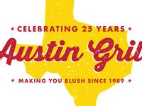 Austin Grill Anniversary Logos