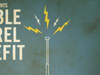 Double Barrel Benefit Poster
