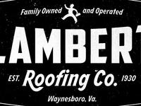 Lambert Roofing Logo