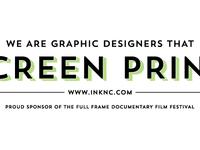 Full Frame Ad for Ink