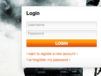 Battlefield Bad Company 2 Server Manager - Login